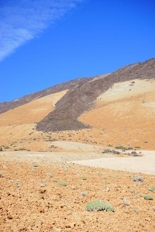 lavos srautas,bazaltas,bazalto srautas,lava,šaltas,pemza akmuo,bimssteinfeld,Kanarų salos,Tenerifė,Teide nacionalinis parkas,lava rock,Trist,Karg,mėnulio kraštovaizdis,vulkanizmas,montaña blanca,montana blanca
