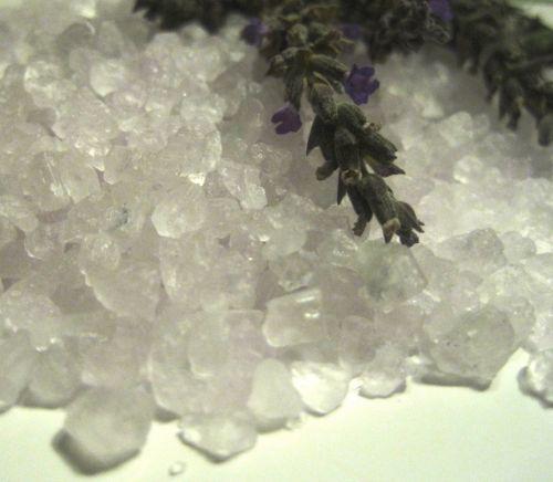 Druska,  Žinoma,  Granulės,  Vonia,  Raminantis,  Aromatingas,  Šviesa & Nbsp,  Violetinė,  Levandų Druska Ir Levanda