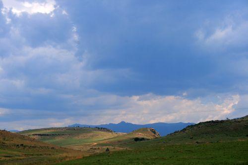kalnai, Drakensbergas, auksiniai & nbsp, vartai & nbsp, nacionalinis & nbsp, parkas, kalnų sluoksniai