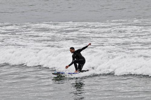 naršyti, banglenčių sportas, vandenynas, jūra, banga, banglentė, mokytis naršyti # 1