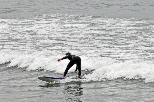 naršyti, banglenčių sportas, vandenynas, jūra, banga, banglentė, mokytis naršyti # 3