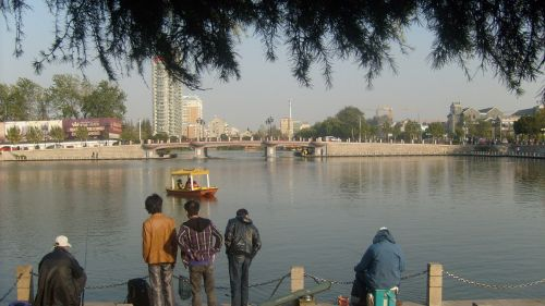 žvejai, žvejys, žmonės, laisvalaikis, vanduo, ežeras, tvenkinys, žvejyba, Laisvalaikis