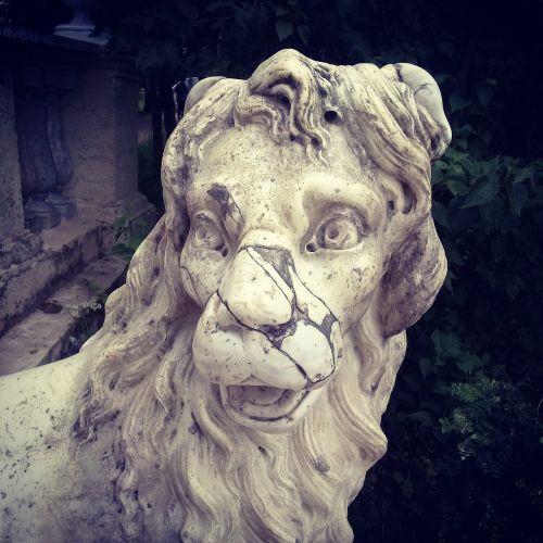 leo,statula,senovė