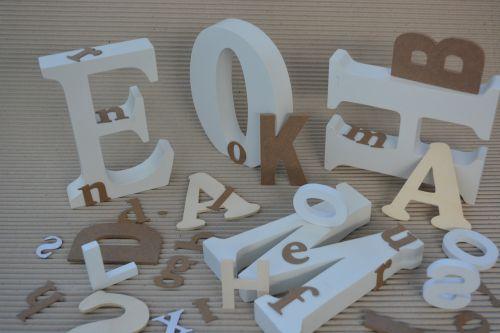 raidės,pradinis,grafiškai,menas,abc,grafika,tipografija,šrifto,mediena,kūrybingas,smėlio spalvos,ruda,balta,kartonas