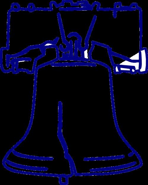 laisvės varpelis,amerikiečių piktograma,Filadelfija,varpas,prakeiktas varpas,laisvės simbolis,patriotinis simbolis,liepos ketvirtoji,Nepriklausomybės diena,Liepos 4 d .,liepos 4 d .,nemokama vektorinė grafika