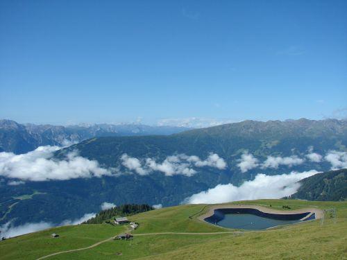 Lienz,Bergsee,kalnai