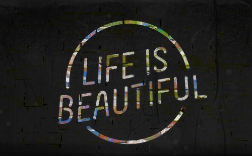 ženklas, vaivorykštė, spalvos, spalvinga, ženklai, gyvenimas, gražus, gyvenimas & nbsp, & nbsp, gražus, įkvėpimas, įkvepiantis, žodžiai, motyvacinis, meno, gyvenimas yra gražus ženklas Nr. 6
