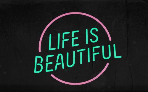 gyvenimas, gražus, ženklas, ženklai, mėlynas, geltona, juoda, įkvėpimas, įkvepiantis, žodžiai, ikvepiantis, motyvacija, motyvacinis, plakatas, gyvenimas yra gražus ženklas Nr. 8