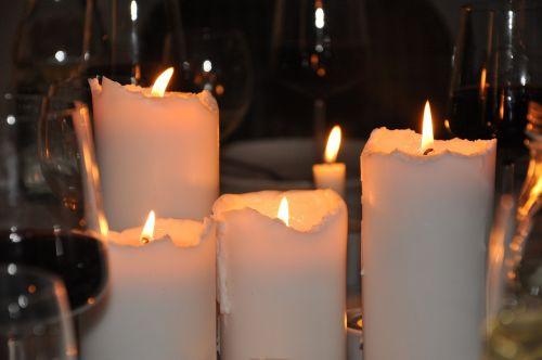 šviesa,žemas,stalo nustatymai,žvakės,nudegimai