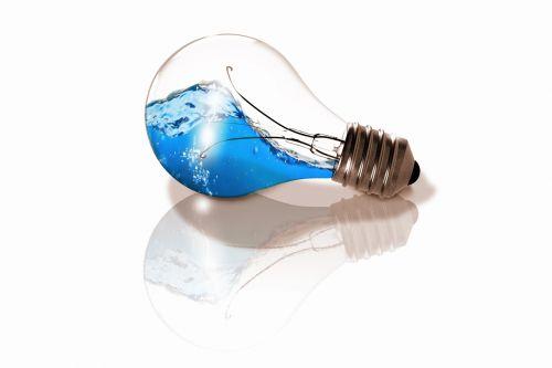 lemputė,vanduo,banga,komponavimas,versija,mėlynas,šviesus,šviesus dizainas,didelės raiškos,Photoshop