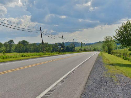 Lincoln & nbsp, greitkelis, Lincoln, greitkelis, pa, pennsylvania, kelias, kelionė, kelionė, kryžius & nbsp, šalis, anksti, Lincoln greitkelis