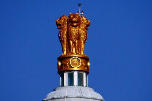 liūto kapitalas,nacionalinė emblema,ashokos emblema,Indija,skulptūra,paminklas,statula,kūrybingas,meno kūriniai,dizainas,metalo darbai,kūrybiškumas,metalas,metalinis,statyba,menas