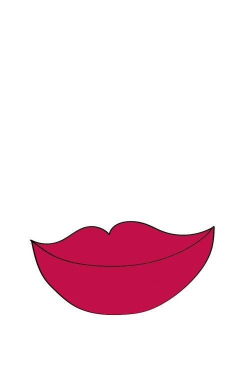 lūpos,Burna,šypsena,vektorius,skaitmeninis piešimas,raudonos lūpos