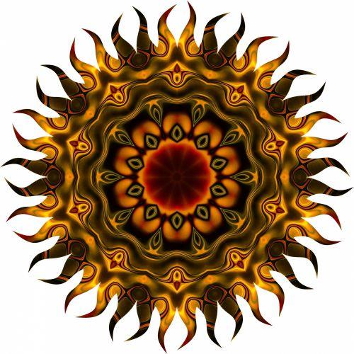skystas, auksas, abstraktus, menas, fonas, fonas, šviesus, spalva, spalvinga, Curl, kreivė, apdaila, dizainas, medžiaga, gėlių, gėlė, geometrinis, haliucinacijos, iliustracija, Kaleidoskopas, ornamentas, modelis, skystas šokoladas saulė 2