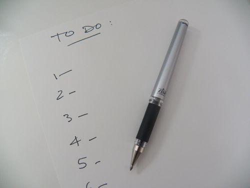 sąrašas,padaryti sąrašą,priminimas,daryti,biuras,rašyti,rašiklis,biuras,užsakytas sąrašas,pastaba,atmintinė