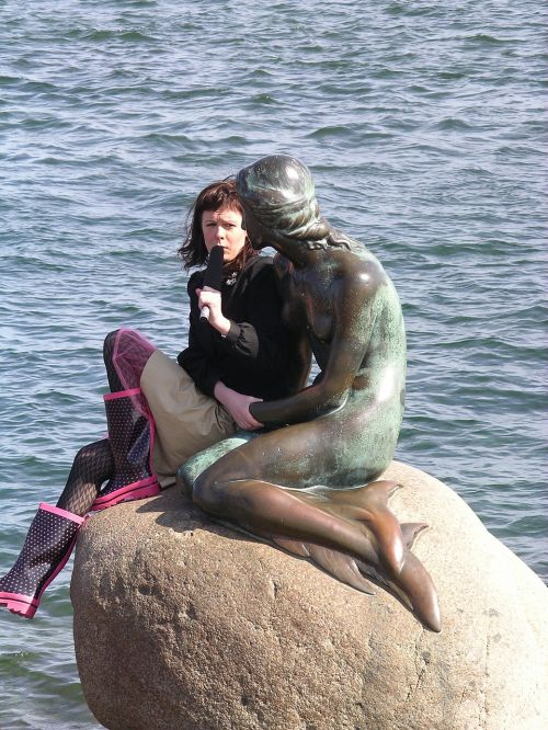 maža undinė,den lille havfrue,Kopenhaga