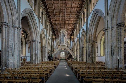 llandaff katedra, llandaff, katedra, bažnyčia, Abbey, Minster, religinis, Religija, Šventoji, šventa, melstis, melstis, interjero, interjerai, viduje, architektūra, statyba, vieta, gotika, pritty, gražus, Cardiff, velsas, istorinis, senas