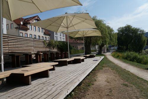 vietos, atsigavimas, tuttlingen, kavinė