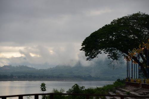 Loei,laosas,mekongas