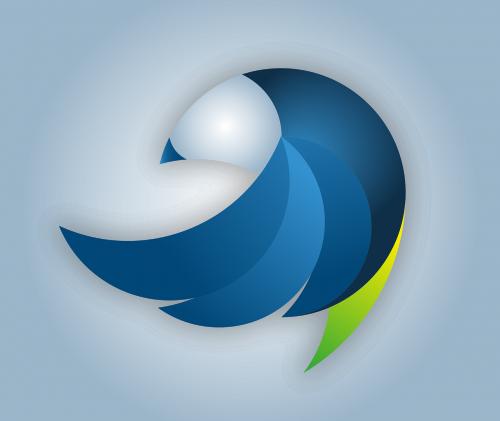 logotipas,paukštis,vektorius,sūpynės,dizainas,abstraktus,žinoma,mėlynas,ženklas,patobulinti,phoenix iš pelenų,pakilti,nemokama vektorinė grafika