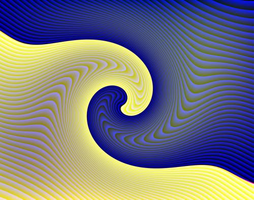 logotipas,spalva,geltona,mėlynas,banga,fonas,modelis,3d,farbenspiel,spiralė