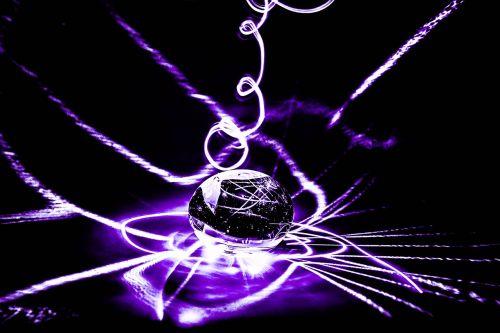 ilga ekspozicija,violetinė,lazeris