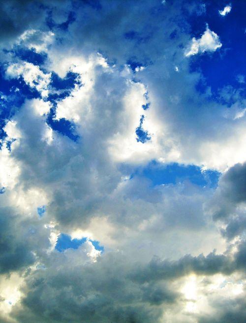 laisvas debesis,debesis,laisvas,pleistrai,balta,šviesa,dangus,mėlynas