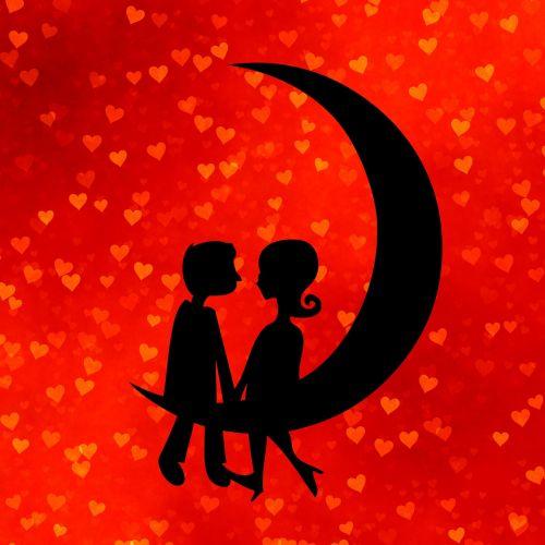meilė,valentines,romantiškas,pora,bučinys,širdis