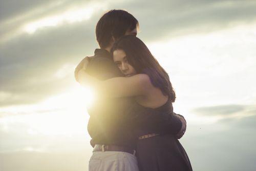meilė,saulėlydis,poros,mėgėjai,romantiškas,žmonės,apšvietimas,dangus,horizontas,romantika,Vestuvės,taikus,popietė,romantika,taika,laimingas,debesys