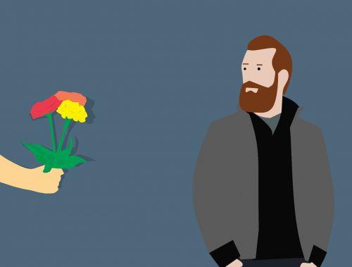 meilė, gėlė, rožė, dovanos, emocijos, gamta, augimas, ranka, duoti, be honoraro mokesčio, be honoraro mokesčio