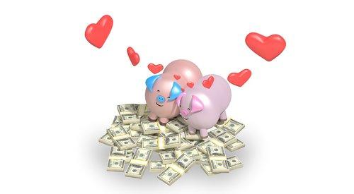 meilė, Vestuvės, romantiškas, santuoka, nuotaka, širdies, rožinis, Valentino, kartu, tuoktis, Romantika, pinigai, pristato, pora, santykiai, šventė, raudona, Piggy, turtingas, pažintys, žiedas, Nemokama iliustracijos