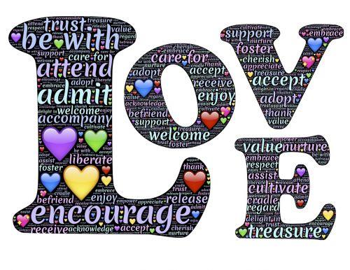 meilė,buvimas,žvilgsnis,mylėti,rūpintis,užuojauta,emoji,priimti,dalyvauti,vertiname,apimti,leisti,pripažinti,pasitikėjimas,lobis,skatinti,buti su,Sveiki,pasveikinti,ačiū,išraiška,piktograma,draugauti,puoselėti,priimti,parama,vertė,pagarba,džiaugtis,kultivuoti,padėti,puoselėti,mėgautis,ugdyti,atsižvelgti,žodis,raidės