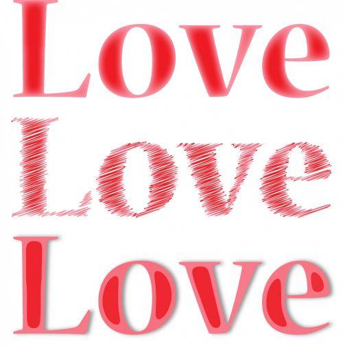 Iliustracijos, clip & nbsp, menas, grafika, iliustracija, meilė, tekstas, romantiškas, romantika, raudona, meilė meilė meilė