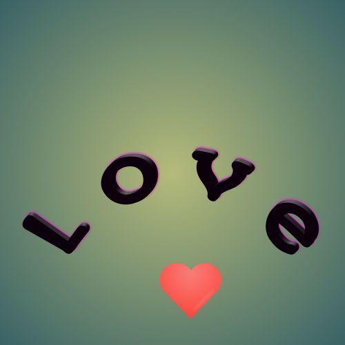 meilė, tekstas, ratas, žalias, gradientas, širdis, fonas, jausmai, pranešimas, raidės, meilės tekstas