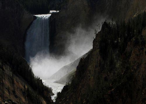 Krioklys,  Kraštovaizdis,  Vaizdingas,  Yellowstone & Nbsp,  Upė,  Geologija,  Viešasis & Nbsp,  Domenas,  Tapetai,  Fonas,  Geltonas Akmuo,  Nacionalinis & Nbsp,  Parkas,  Vajomingas,  Usa,  Ns,  Lauke,  Dykuma,  Tvirtas,  Vanduo,  Teka,  Kritimas,  Grand & Nbsp,  Kanjonas,  Mažesnis Krioklys Krioklys