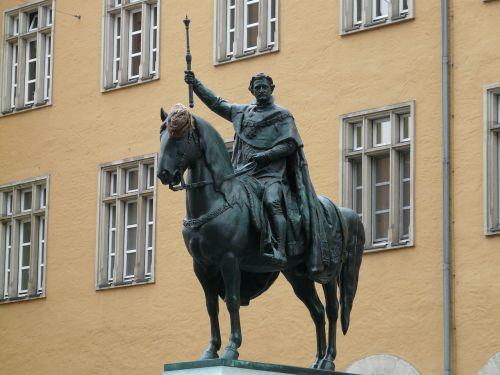 ludwig i,jojimo statula,karalius,bavarijos karalius,bavarija,regensburgas,figūra,metalas,paminklas