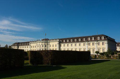 Liudvigsburgo Vokietija, Pilis, Parkas, Architektūra, Vokietija, Namo Fasadas, Lankytinos Vietos, Namai