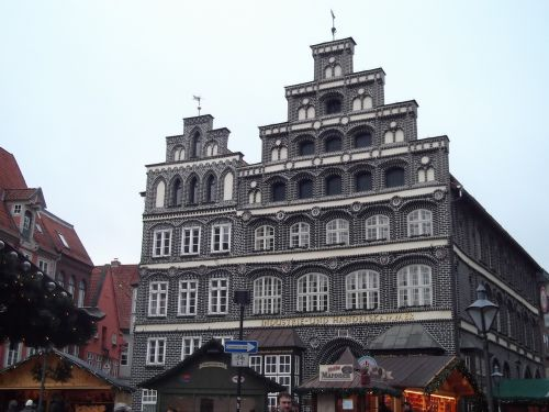 Lüneburg,namai,santūra