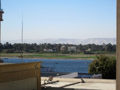 Nile, luxor, Egiptas, upė, luxor nile