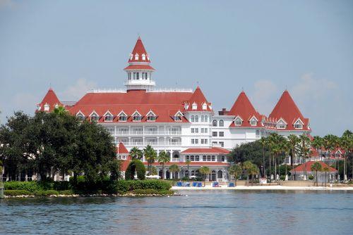 prabangus & nbsp, viešbutis, viešbutis, kurortas, kraštovaizdis, ežeras, architektūra, florida, atostogos, kelionė, turizmas, prabangus viešbutis kurortas