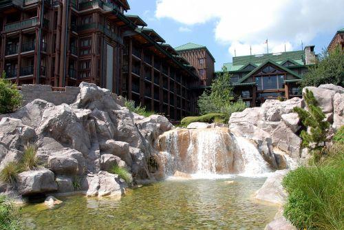 prabangus & nbsp, viešbutis, kurortas, viešbutis, kraštovaizdis, architektūra, florida, usa, atostogos, kelionė, turizmas, prabangus kurorto viešbutis