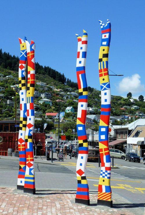 lyttelton,Naujoji Zelandija,skulptūra,modernus menas,zealand,įlanka,uostas,christchurch,dangus,jūra,uostas,sala,kalnas,uostas,į pietus,kivi,nz,jūrų uostas,baseinas,debesys