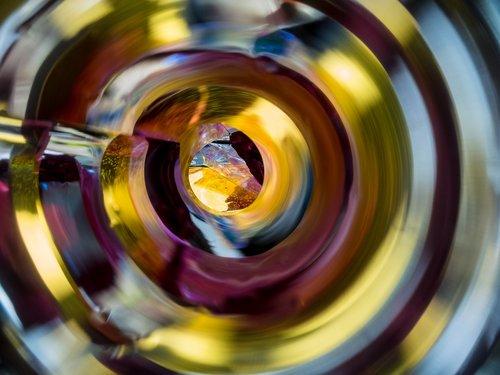makro, spiralė, veidrodis, skaidrę, Anotacija, makro fotografija, Iš arti, rajono, meninės fotografijos