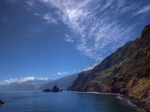 Madeira,kranto,Rokas,jūra,uolos pakrantė,vanduo,атлантический,gamta,kraštovaizdis,sala,portugal,žygis,uolos,uolos,šventė,ežeras,vasara,dangus,naršyti,mėlynas,gėlių sala,banga,purkšti,akmens pakrantė,akmenys,steinig,vakarinė pakrantė,vandenynas