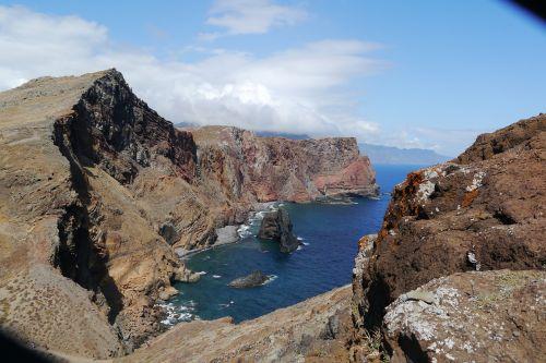 Madeira,uolos,kranto,žygis,akmuo,jūra,Rokas,kraštovaizdis,uolos pakrantė,perspektyva,žygiai,šventė,gražus,akmens pakrantė,rytus