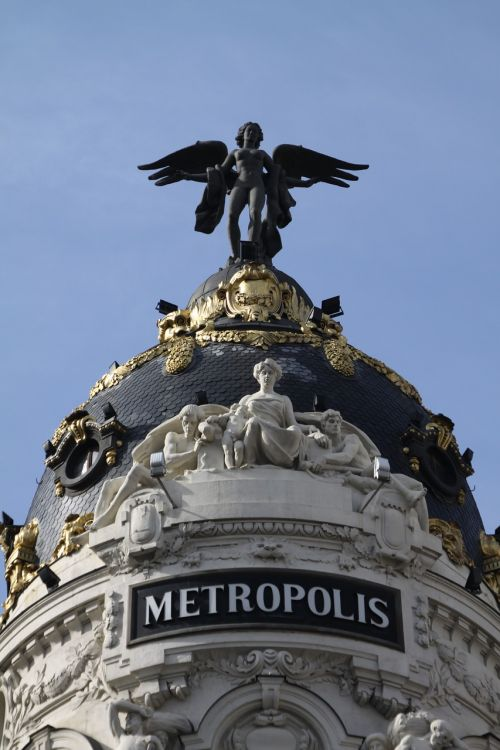 Madride,metropolis,architektūra,kupolai