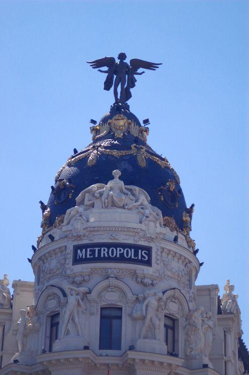 Madride,kupolai,architektūra,miestas,metropolis