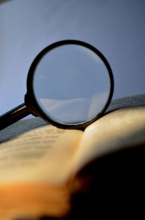 didintuvas,padidinamasis stiklas,lupa,knyga,žodynas,Paiešką,Paieška,skaitymas,mokymasis,rasti,studijuoti,priartinti