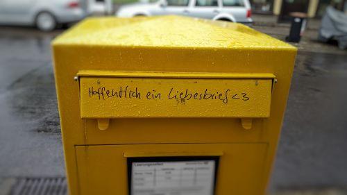 pašto dėžutę,meilės laiškas,pranešimas,raidės,pranešimas,romantiškas,lietus,nuomonė