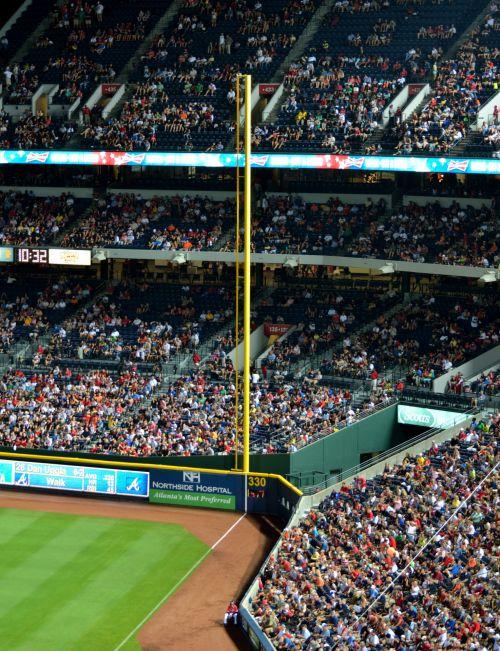 beisbolas, Sportas, lauko vieta, bloga & nbsp, linija, žymeklis, žmonės, pagrindinė & nbsp, lyga, stadionas, laukas, minios, laisvalaikis, poilsis, žaidimas, pagrindinės lyga beisbolo stadionas